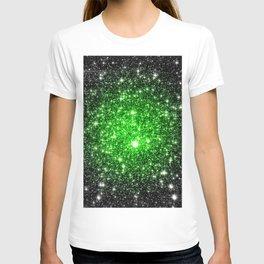 galAxy. Stars Lime Green T-shirt