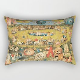Bosch Garden Of Earthly Delights Rectangular Pillow