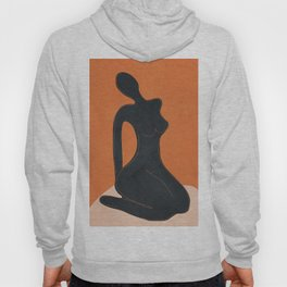 Abstract Nude II Hoody
