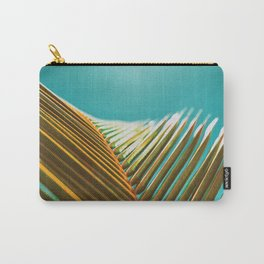 Palm Leaf in Detail Carry-All Pouch