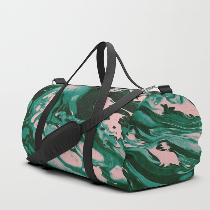 5f85d23adf12 MEET ME IN THE WOODS Duffle Bag by malachita