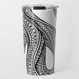 Ornate ball python Travel Mug