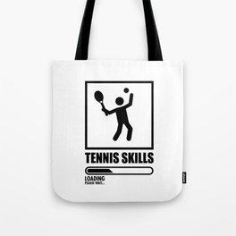 Tennis Skills Tote Bag