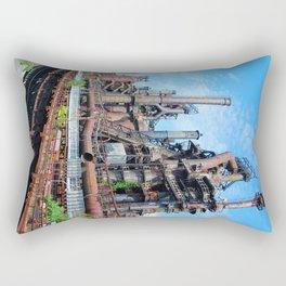 Bethlehem Steel Blast Furnaces 8 Rectangular Pillow
