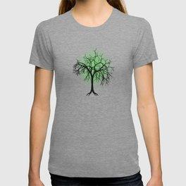 Tree pattern T-shirt