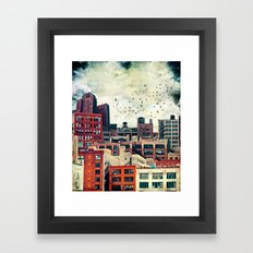 The Rooftop #6 Framed Art Print
