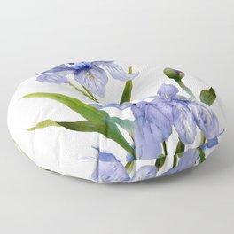 Purple Iris Floor Pillow