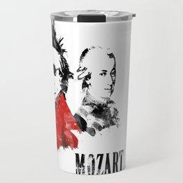 Mozart Punk Travel Mug