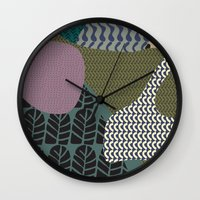 rare Wall Clocks featuring Rare rabbit by Akwaflorell