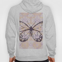 butterfly/motives/colorful/pattern/oldie Hoody