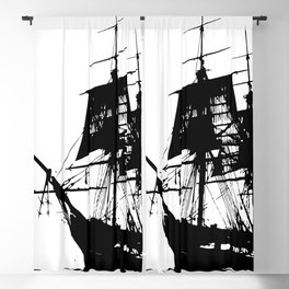Pirate Ship Blackout Curtain