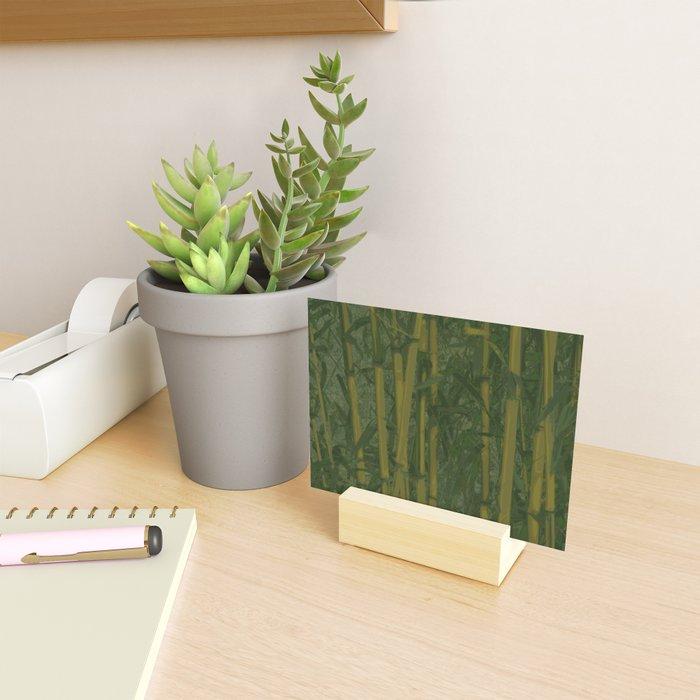 Bamboo jungle Mini Art Print