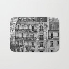 Paris Architecture Photography Bath Mat