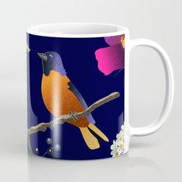 Birds, Berries and Flowers Coffee Mug