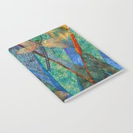 Colorful Dragonflies Notebook