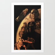 VII Art Print