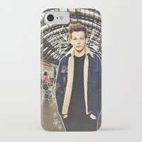 louis iPhone & iPod Cases featuring Louis by Claudia