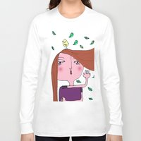 sarah paulson Long Sleeve T-shirts featuring Sarah by Alfonnew Shop