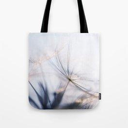Macro dandelion Tote Bag