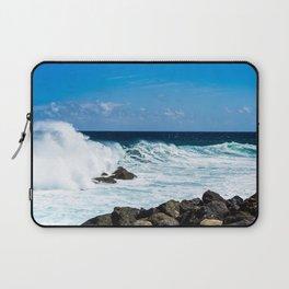 Trade Wind Waves Laptop Sleeve