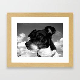 My best friend Framed Art Print