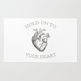 Hold On To Your Heart Rug