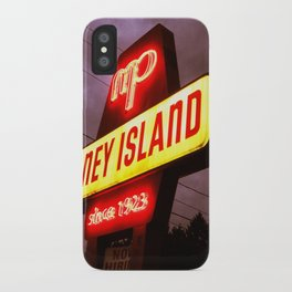 Small Town Coney Island iPhone Case