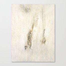 white struktur Canvas Print