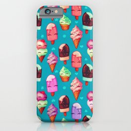 Popsicles and Ice Cream iPhone Case