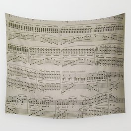 Chords and Arpeggios  Wall Tapestry