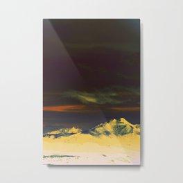 Inverted Peaks Metal Print
