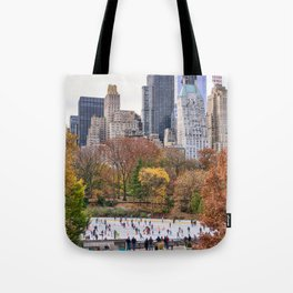 Central Park in Fall Tote Bag