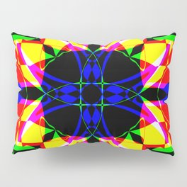 Abstract RR Y Pillow Sham