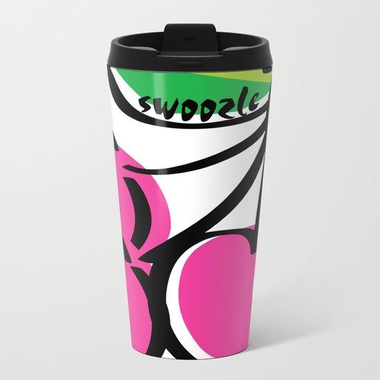 Cherry Swoozle Metal Travel Mug