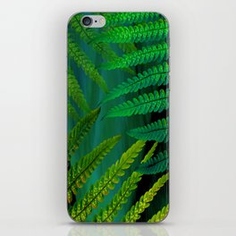 Forest Fern Green iPhone Skin