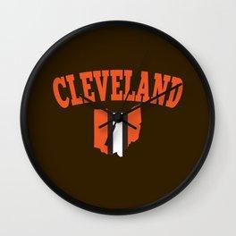 Cleveland Wall Clock