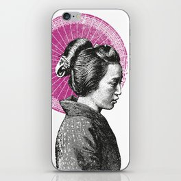 Geisha iPhone Skin