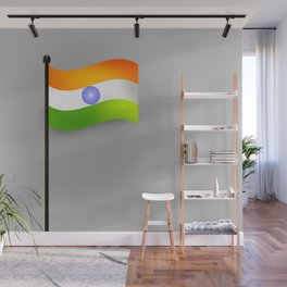 indian flag Wall Mural