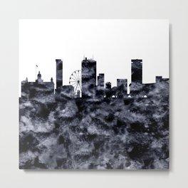 Birmingham Skyline Great Britain Metal Print