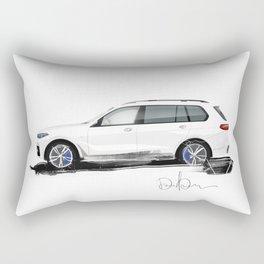 Bavarian sketch Rectangular Pillow