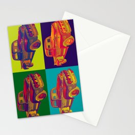 Colorful 1951 Ford F-1 Pickup Truck Pop Art  Stationery Cards