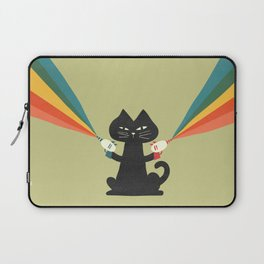 Ray gun cat Laptop Sleeve