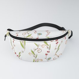Flower vines Fanny Pack