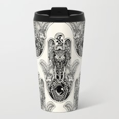 Hamsa Hand Elephant Travel Mug