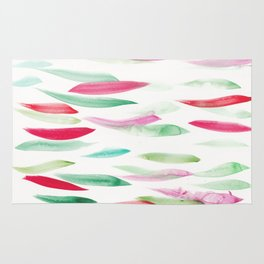 3  | Watercolor Pattern Abstract 181212 Rug