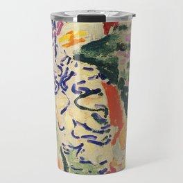 La Japonaise Woman beside the Water by Henri Matisse Travel Mug