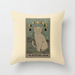 The Spiritual Guide Throw Pillow