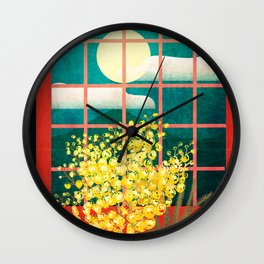 I look outside Wall Clock