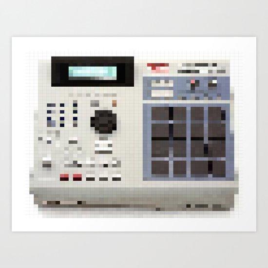 mpixels Art Print