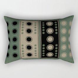 """""""Tribal Viridian Stars"""" Rectangular Pillow"""